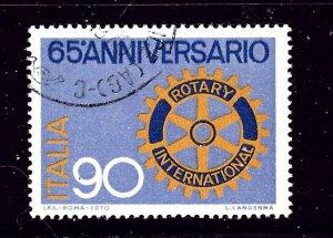 Italy 1026 Ued 1970 Rotary Intl     (P85)