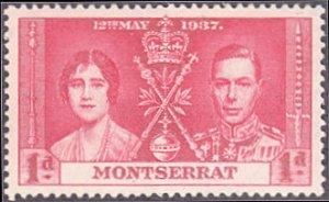 Montserrat # 89 mnh ~ 1p Coronation