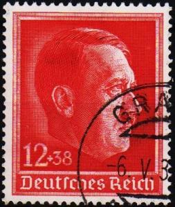 Germany. 1938 12pf+8pf S.G.652. Fine Used