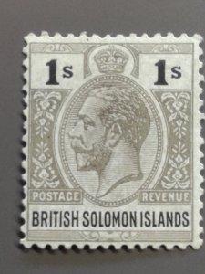 Solomon Islands 36a F-VF MH. Scott $ 8.50