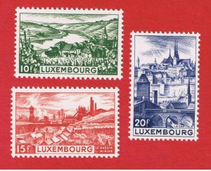 Luxembourg #247-249  MNH OG  Various Scenes   Free S/H
