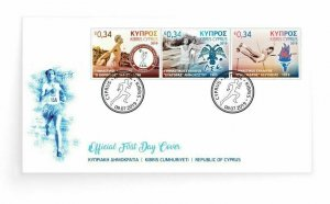CYPRUS/2019, (FDC) Cyprus Athletic Associations (Olympic Sports), MNH