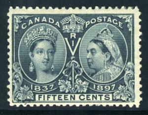CANADA SCOTT# 58 SG# 132 MINT HINGED AS SHOWN