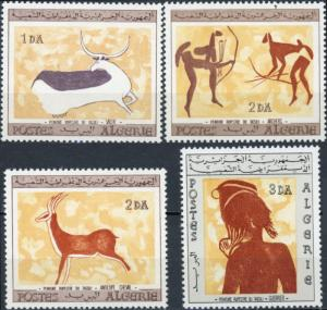 Algeria #365-368 Wall Paintings MNH