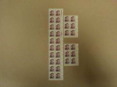 USPS Scott 2177 15c 1988 Buffalo Bill Cody Lot of 3 Plate...