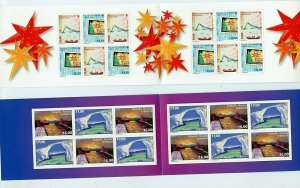 Greenland #7452, #782a (GR478) Complete Booklets, MNH, VF, CV$114.00