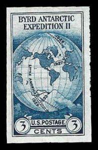 PCBstamps      US # 735a S.S. sgl. 3c Byrd Antarctic, MNH, (14)