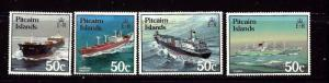 Pitcairn Is 281-84 MNH 1987 Ships