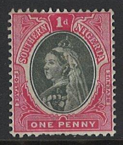 Southern Nigeria Scott 2 MLH! Queen Victoria!