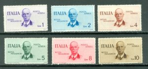 ITALY KING EMMANUEL #C73-78..SET MINT VERY LIGHT H...$69.50