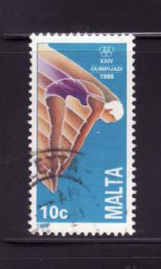 Malta 728 U Olympics, Sports, Diving