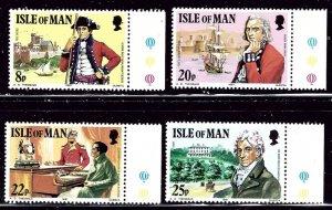 Isle of Man 193-96 MNH 1981 set    (ap3000)