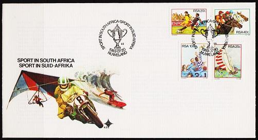 South Africa. 1983 FDC. Sports. Fine Used