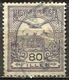 Hungary; 1916: Sc. # 100: O/Used Single Stamp