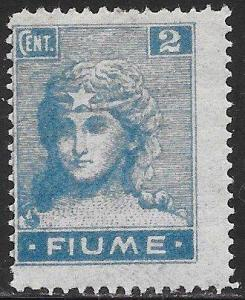 Fiume 27 Unused Hinged - Italy