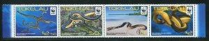 Tokelau MNH 386-9 Sea Snakes Marine Life 2011 SCV 9.50