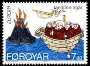 STAMP STATION PERTH Faroe Islands #265 Fa261 MNH CV$2.40