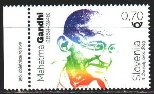 Slovenia. 2019. 1384. Gandhi, politician and lawyer. MNH.