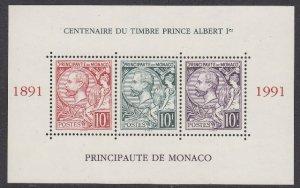 Monaco 1782 Prince Albert MS mnh