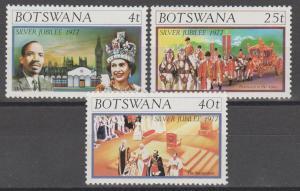 Botswana #179-81  MNH VF  (ST2099)