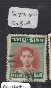 THAILAND (P0912B)  KING  5B   SC 271   VFU