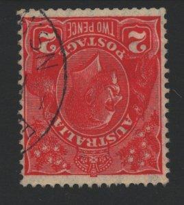Australia Sc#116 Used - Inverted Watermark