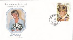 1997, Chad: Diana, FDC (E11420)