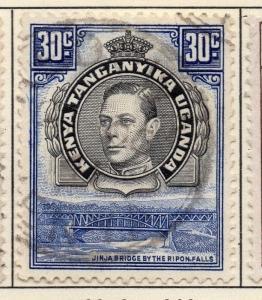 British KUT Uganda 1938-54 Early Issue Fine Used 30c. 027070