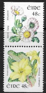 Ireland - 1569A - Primrose & Daisy 48ct. - vertical pair - MNH