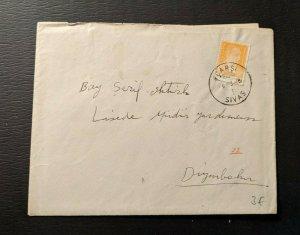 1948 Carsi Sivas Turkey Cover to Diyarbakır Turkey with Contents