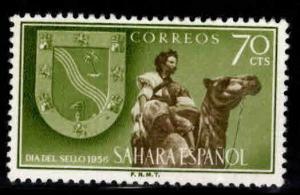 SPANISH SAHARA Scott 80 MH* stamp