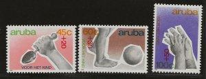 ARUBA  SC #  B16 - 8  MNH