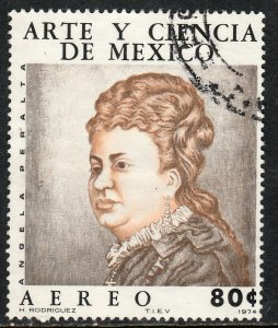 MEXICO C443, Art & Science (Series 4) Musicians A. PERALTA. USED.  F-VF. (1312)