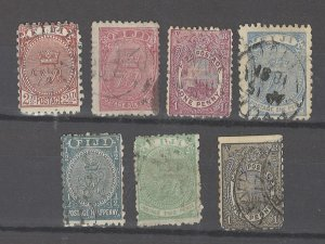 COLLECTION LOT # 3173 FIJI 7 STAMPS 1878+ CV+$34