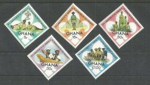1972 Ghana Boy Scouts 65th anniversary diamond