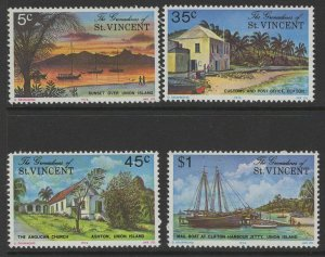 GRENADINES OF ST.VINCENT SG74/7 1976 UNION ISLAND MNH
