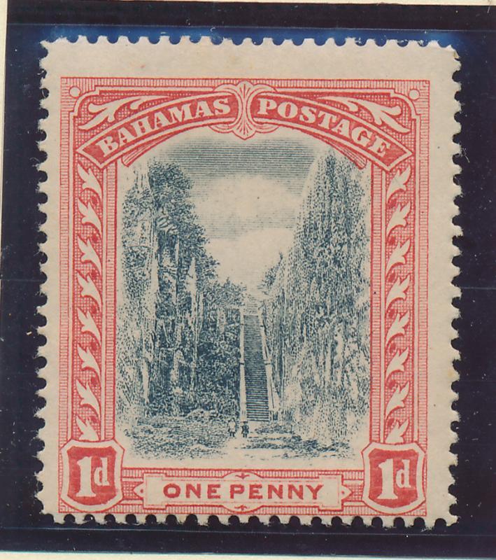 Bahamas Stamp Scott #33, Mint Hinge Remnant - Free U.S. Shipping, Free Worldw...