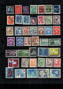 Yugoslavia  42  diff used and mint lot collection