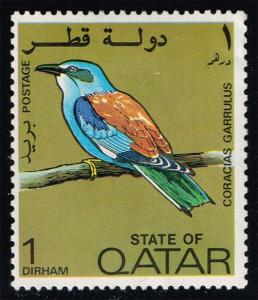 Qatar #279 European Roller; Unused (2.00) (1Stars)