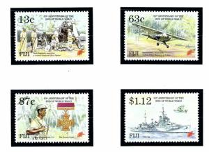 Fiji 720-23 MNH 1995 50th anniv of end of WWII