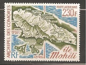 Comoro Islands SC C68 Mint Never Hinged
