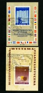 Poland Stamps # B104-5 VF Used