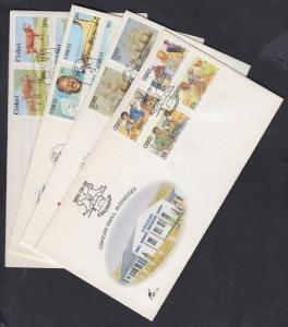 South Africa Ciskei stamp 9 FDC, one with tale booklet Cover 1985-1989 WS142326