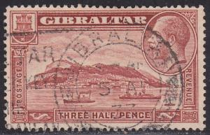 Gibraltar 97A USED 1931 Rock of Gilbraltar