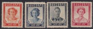 Southern Rhodesia 1947 KGV1 Set Victory UMM SG 64 - 67  ( J1089 )