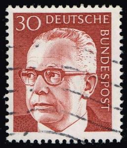 Germany #1031 Gustav Heinemann; Used (0.25)