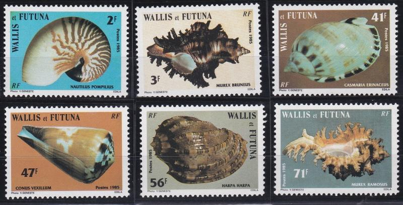Wallis and Futuna 320-325 MNH (1985)