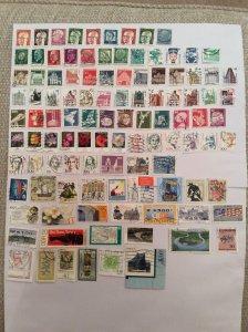 German 100+ stamps - Lot V