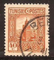 Tunisia  #  131  used