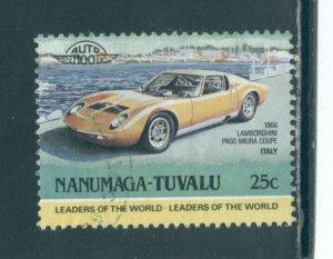 Tuvalu - Nanumaga 10  Used cgs